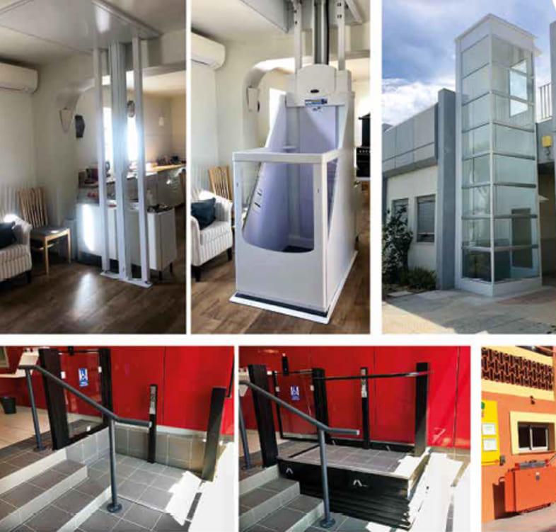 installations montes charge et ascenseurs